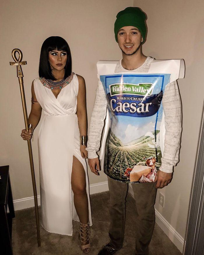 Se supone que éramos César y Cleopatra.. nos falta comunicación