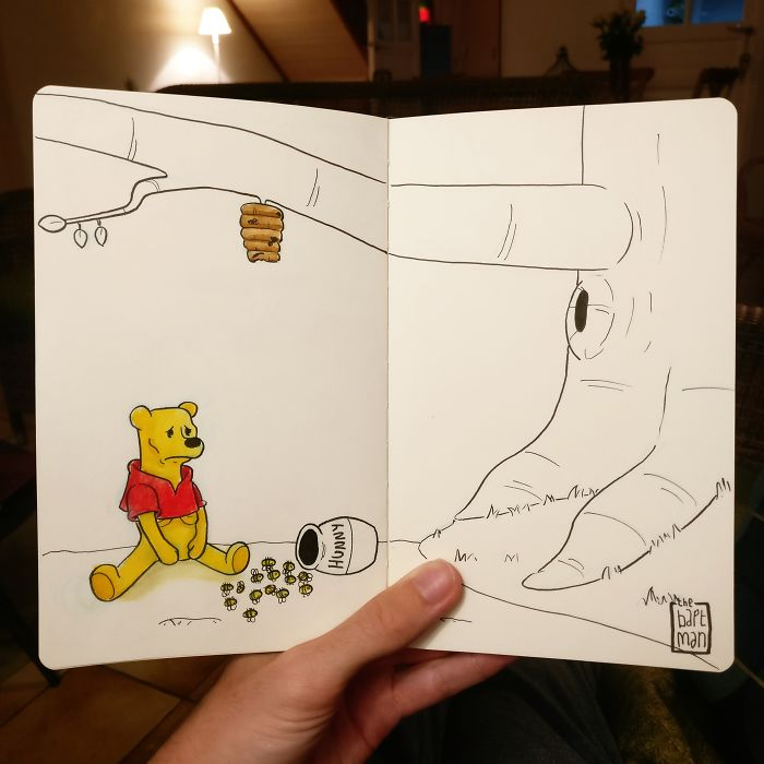 Winnie Pooh und das Aussterben der Bienen