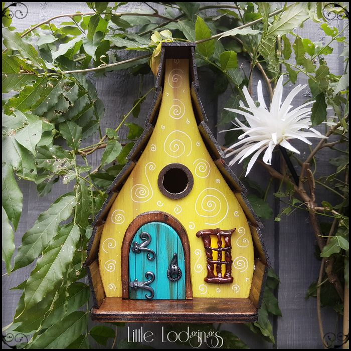 I Build Fairytale-Like Birdhouses For The Tiny Creatures That Live In Your Garden (Part 3)