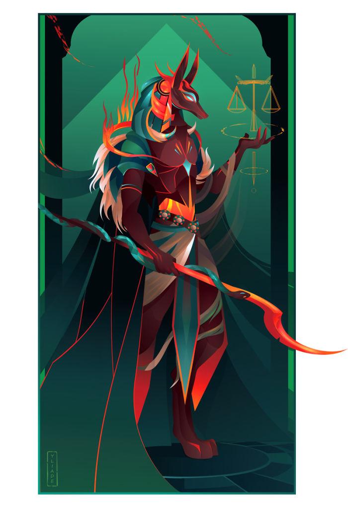 Anubis - Gott des Todes, Einbalsamierung, Beerdigungen und Trauerfeiern