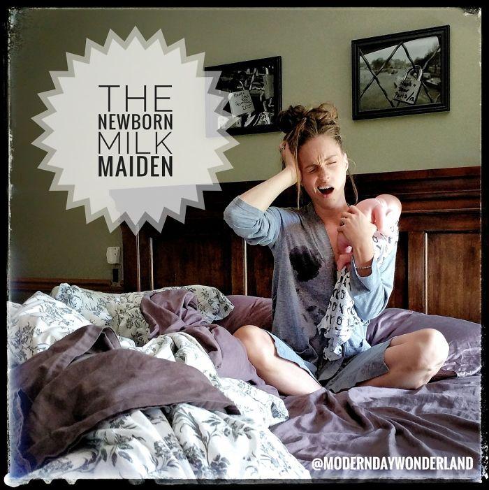 The Newborn Milk Maiden