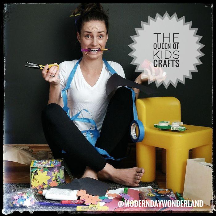 The Queen Of Kids Crafts
