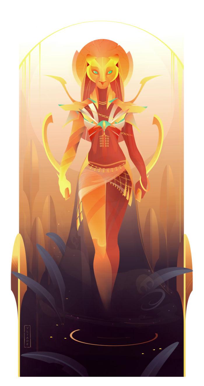 Sekhmet – Goddess Of Lions, Fire And Vengeance