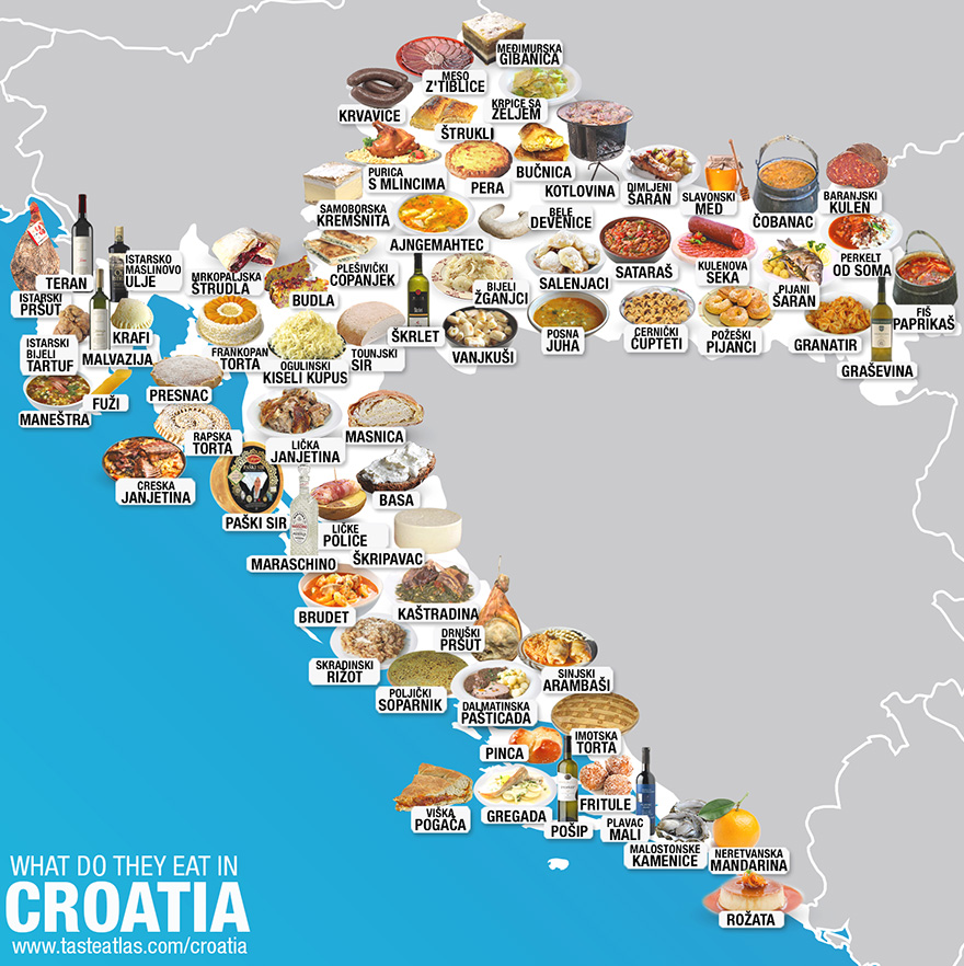 30 Maps Reveal The Tastiest Dishes Around The World | Bored Panda