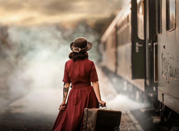 Vintage Steamtrain