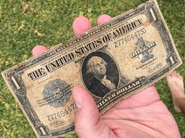 Found A 94 Year Old Dollar On The Ground