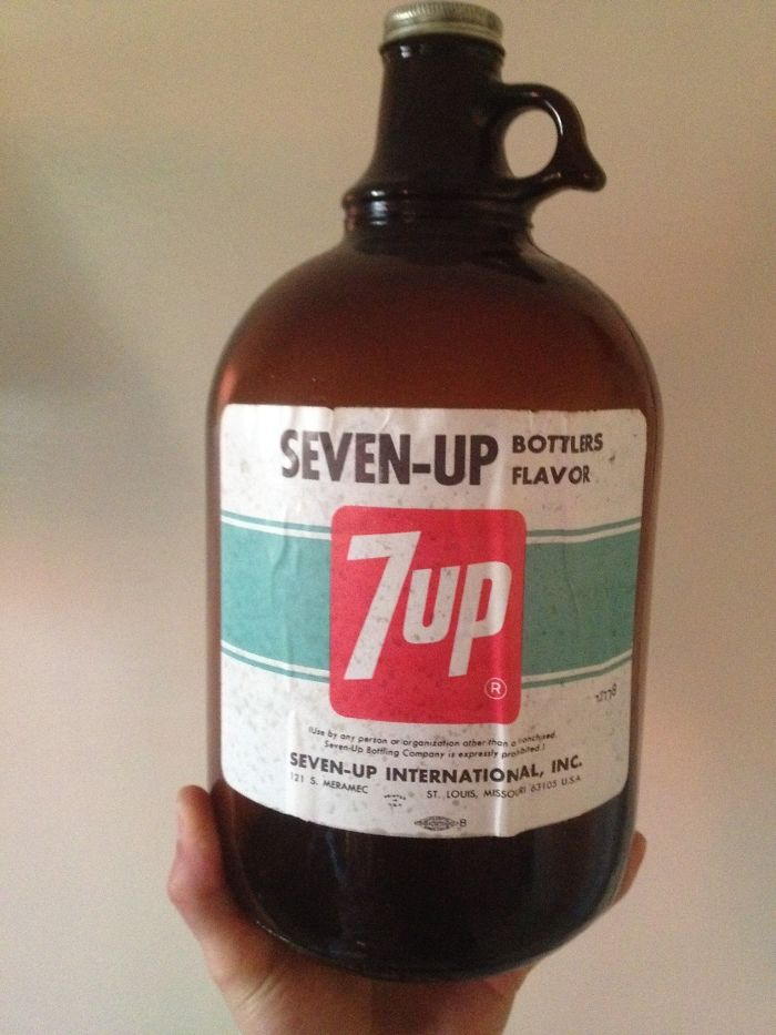 This Old Seven-Up Bottlers Flavor I Found At Grandma's House