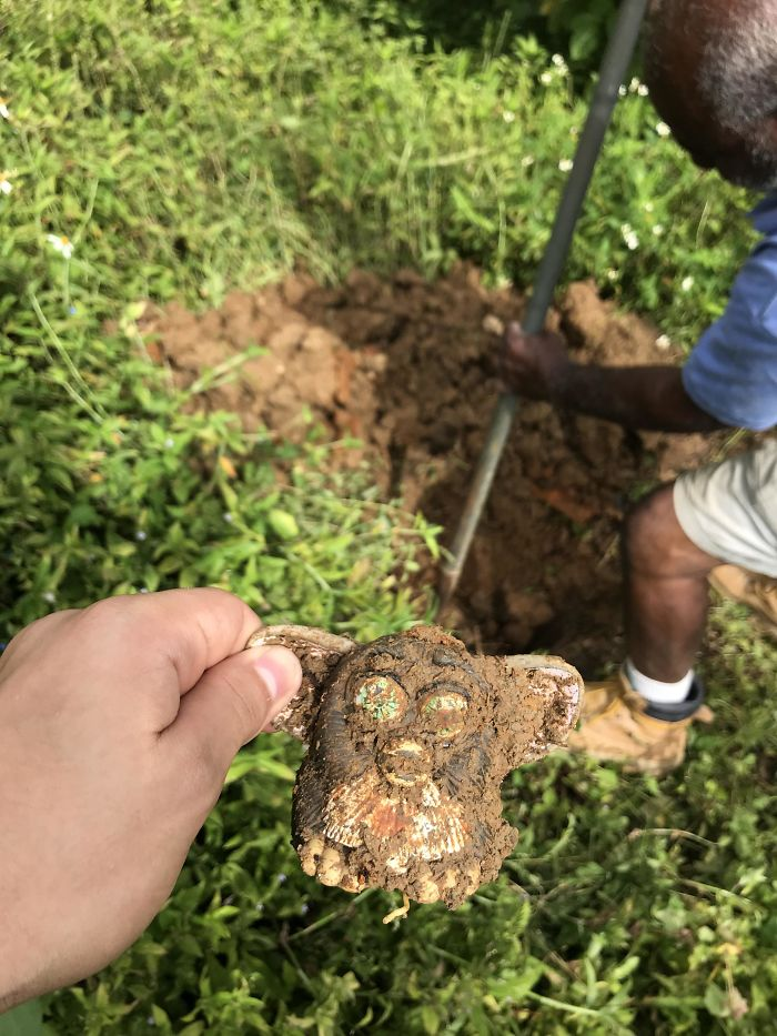 Found A Furby While Digging A Hole