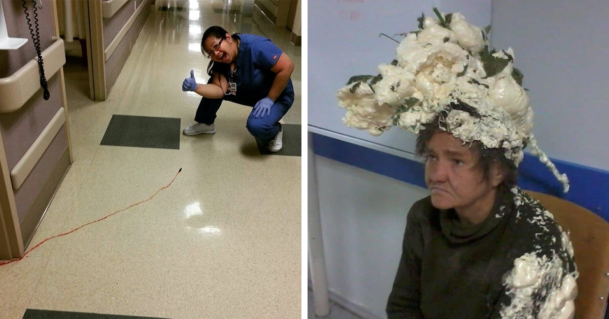 20+ Of The Most Unexpected And Funny Things That Have Ever Happened In The Hospital