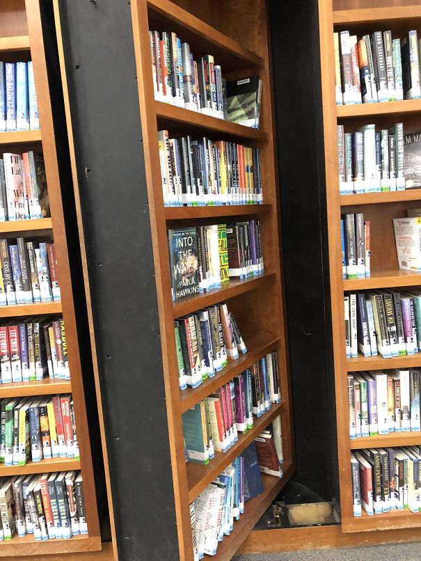 The Mystery Section In San Jose State University's Library Has A Secret Bookshelf