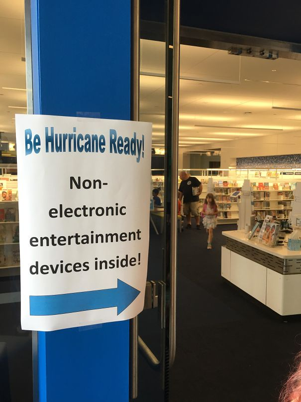 Our Library's Hurricane Prep