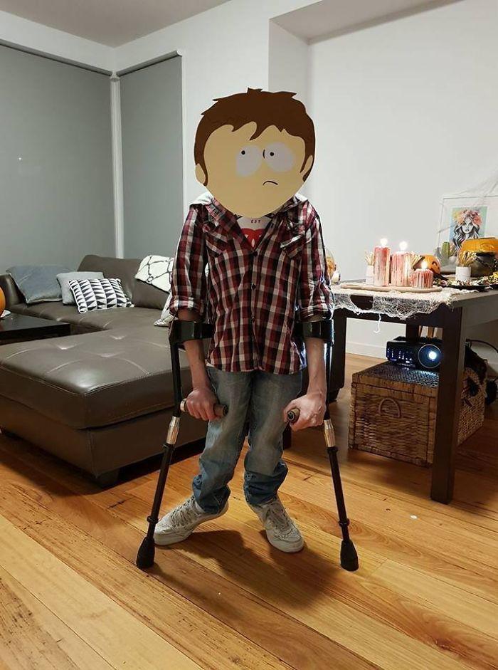 El disfraz de mi hermano