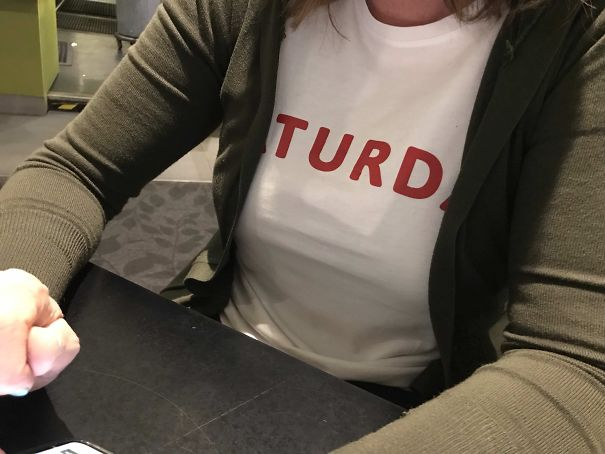 "My Wife's T-Shirt Says ""Saturday"""