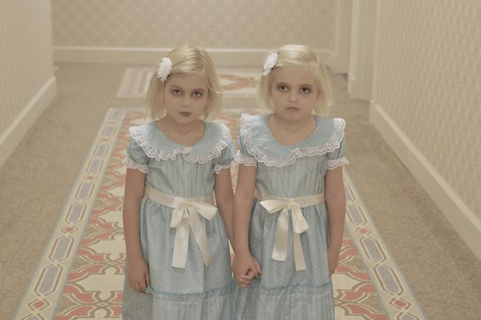 Mi esposa lleva esperando este Halloween desde que supimos que ibamos a tener gemelas