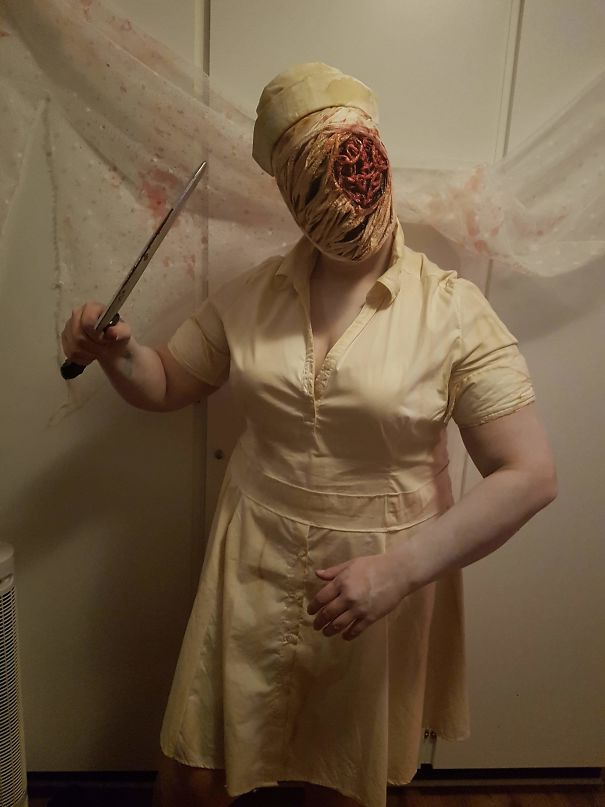 Turned Myself Into A Nurse From Silent Hill. Lifegoal Achieved