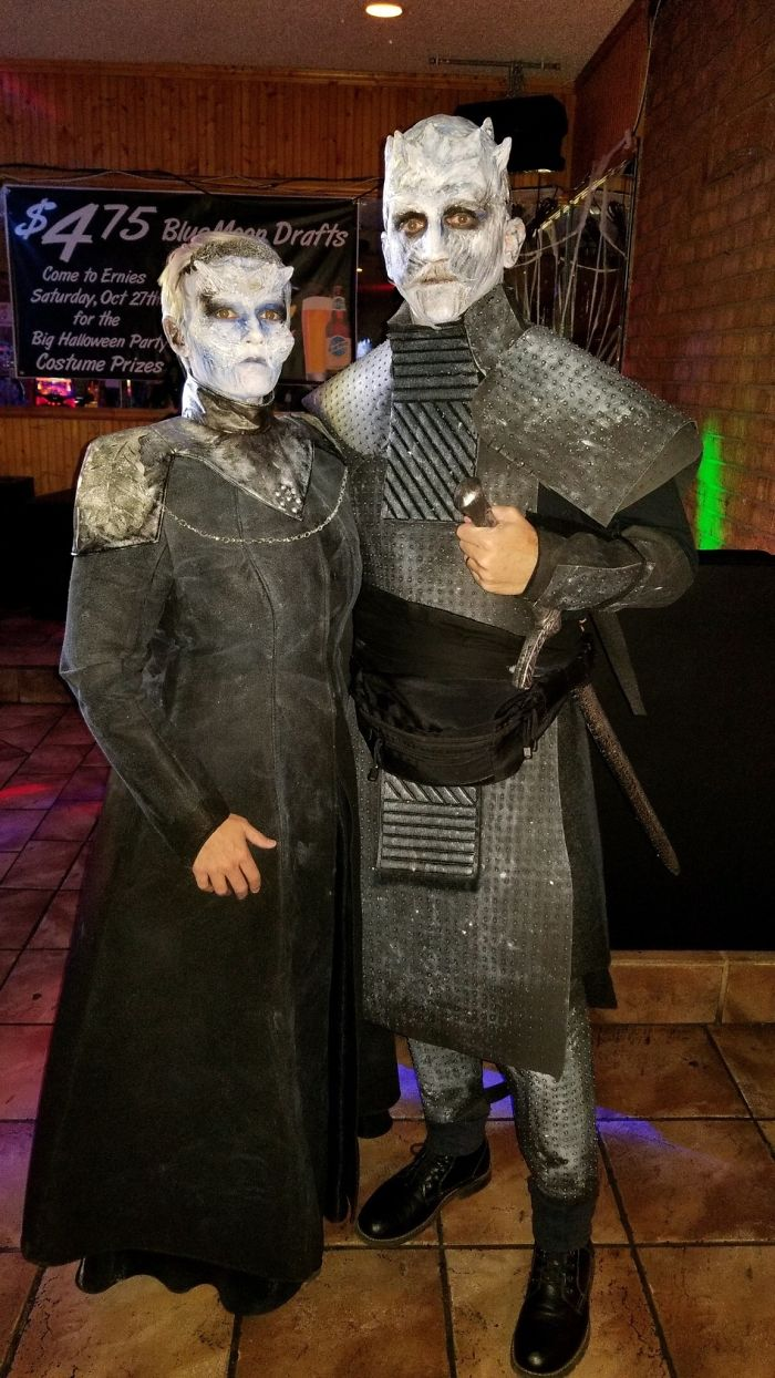 White Walker Cersei And The Night King