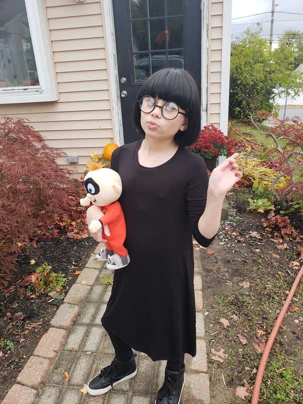 I Think My Son Makes A Good Edna Mode