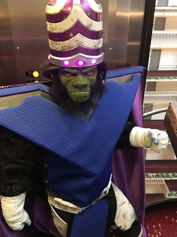 Mojo Jojo Costume