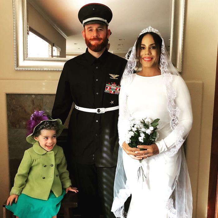 La familia real. Mi hijo es la reina