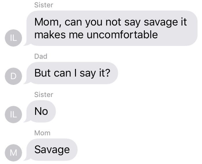 Mom Is A Savage