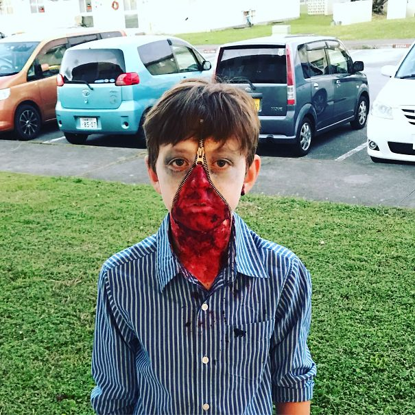 So My Wife Did My Son's Makeup