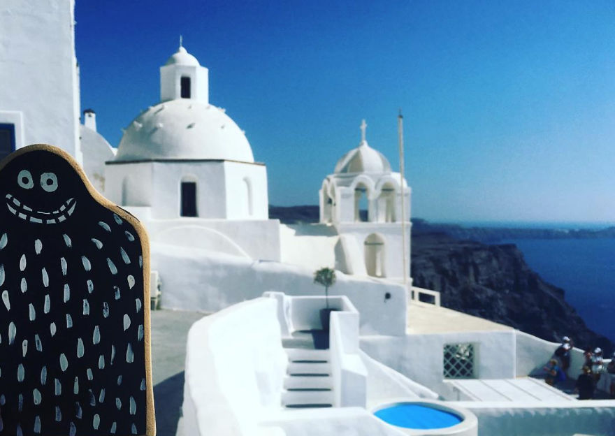 #lylesighting - Santorini