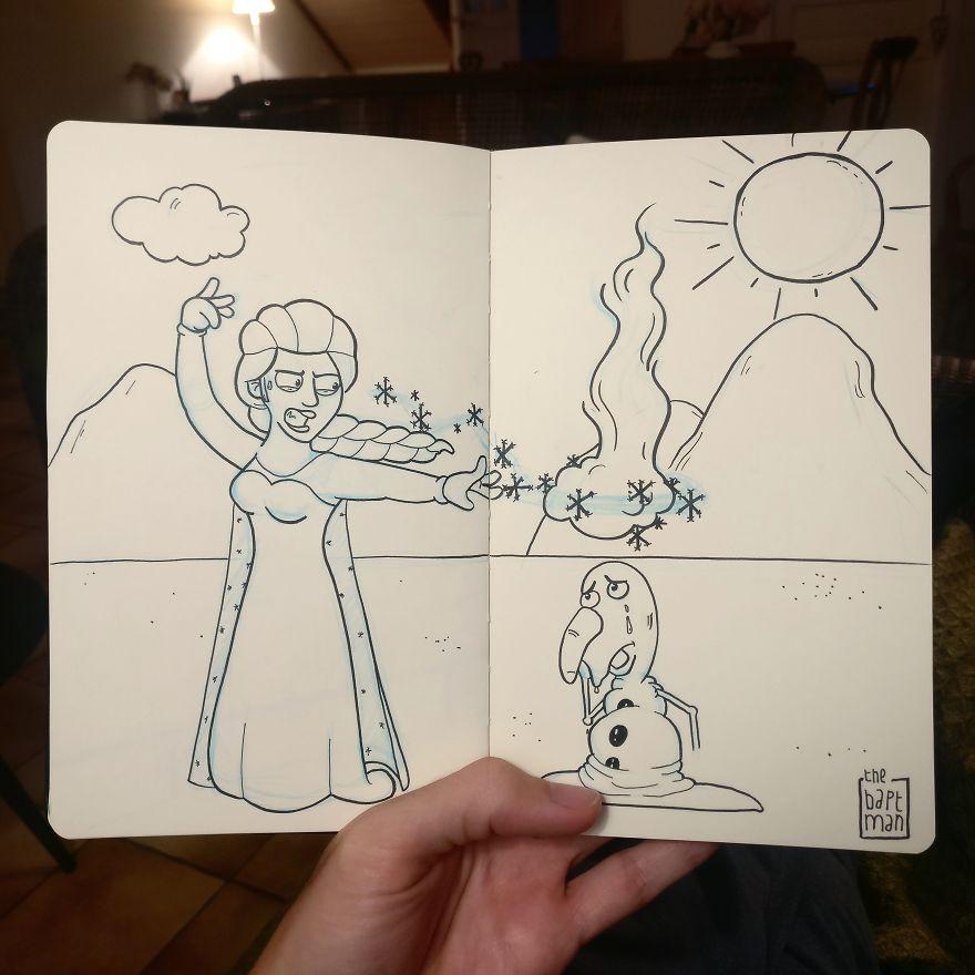 Elsa And Global Warming