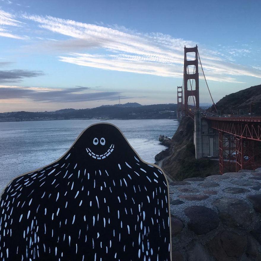 #lylesighting - Golden Gate Bridge