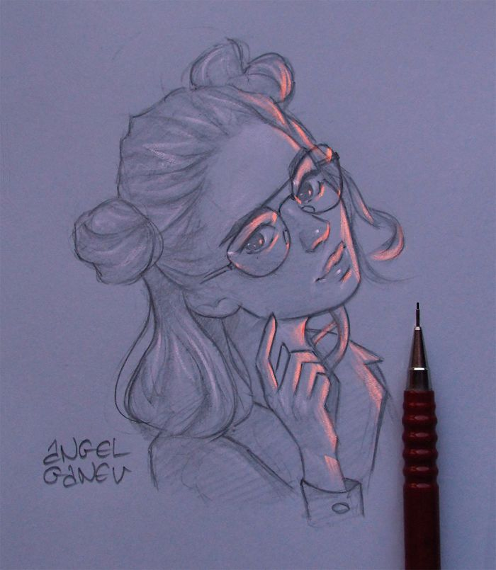 Artist Makes His Illustrations Have Their Own Light And The Result Is Incredible