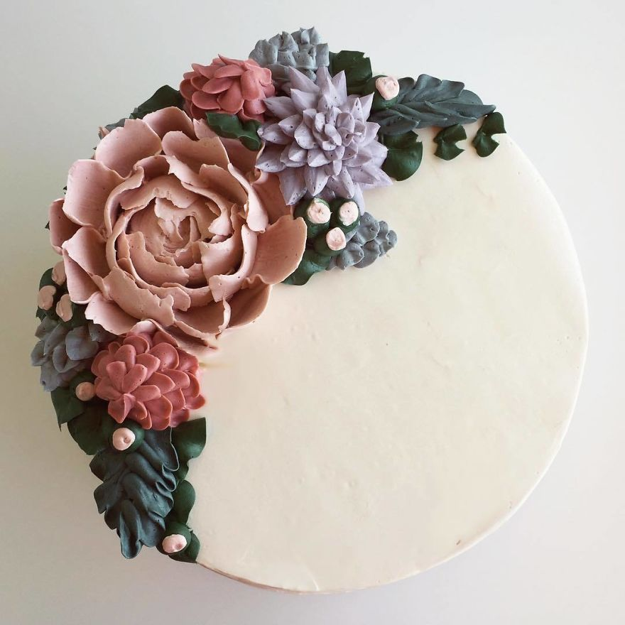 Artist Takes Inspiration From Nature To Make Her Cakes