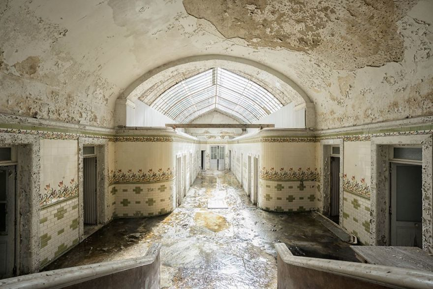 Abandoned Thermal Baths In France