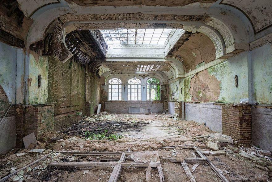 Abandoned Ballroom In Belgium