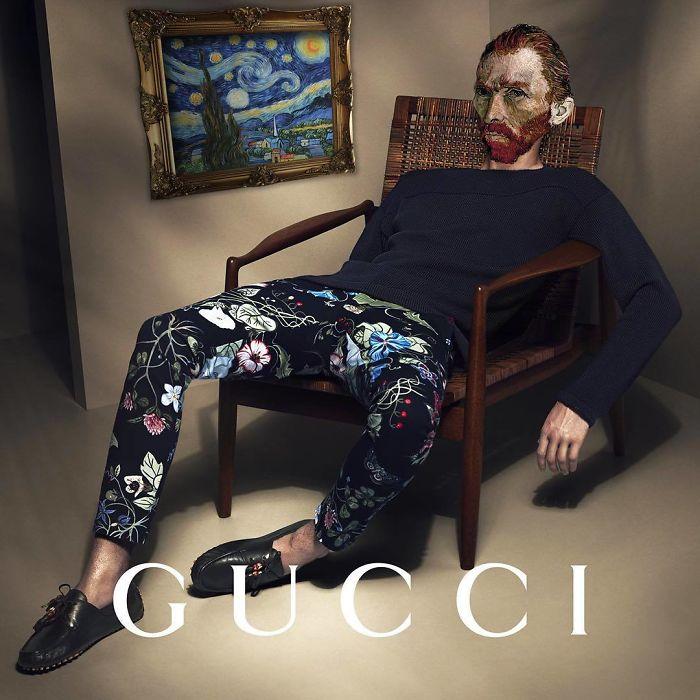 Gucci With Van Gogh