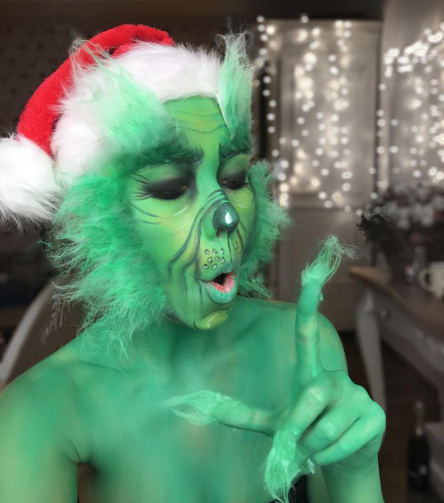 I Transform Myself With Halloween Makeup