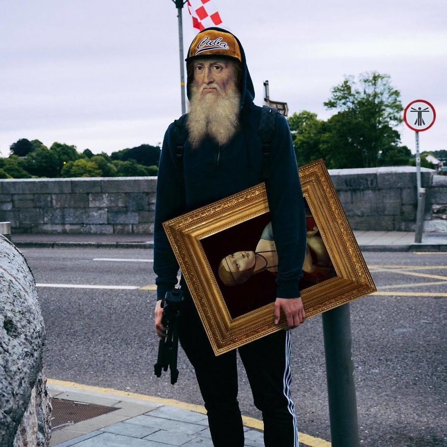 When Art Meets Real Life