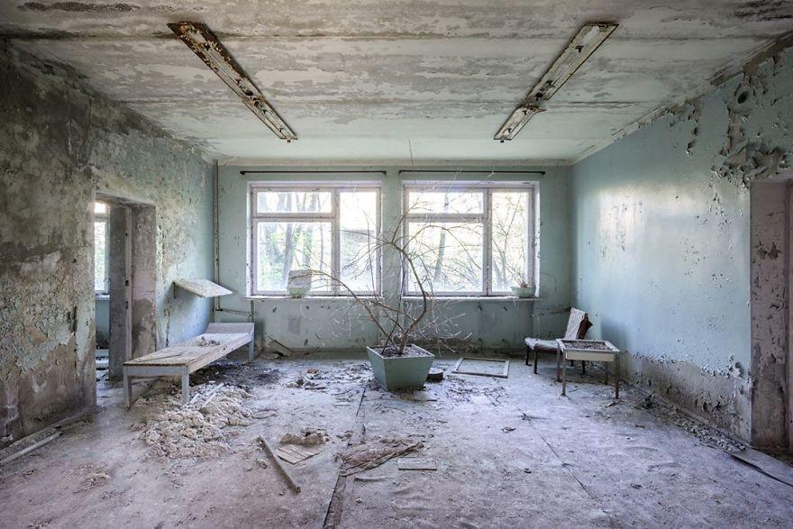 Abandoned Hospital In Ukraine