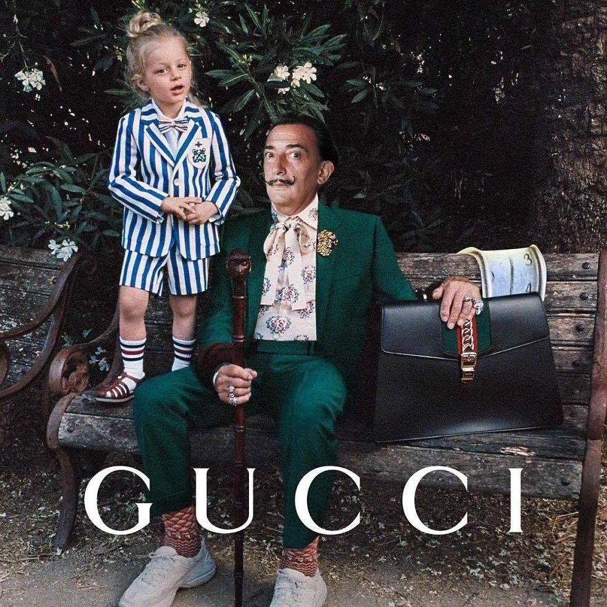 Grandpa Dali With Gucci