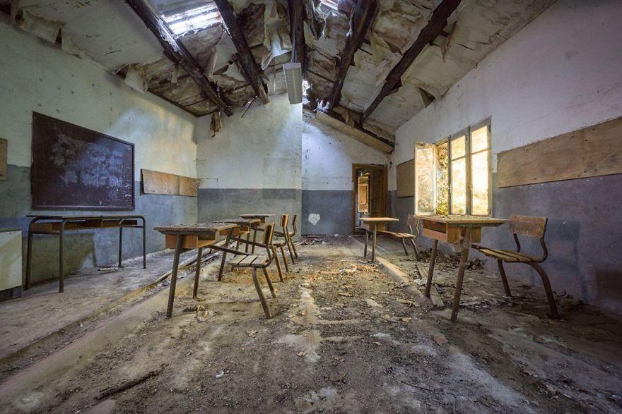 Abandoned Boarding School In France