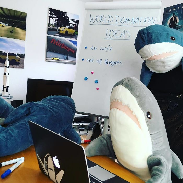 Ikea Released An Adorable Plush Shark And People Are Losing Their