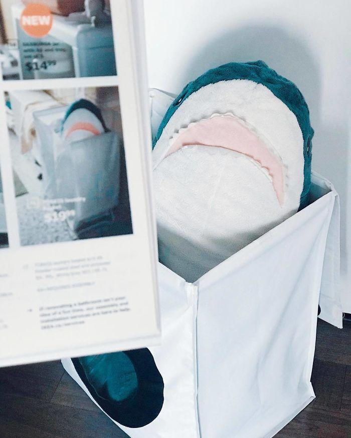 Ikea Shark Plush