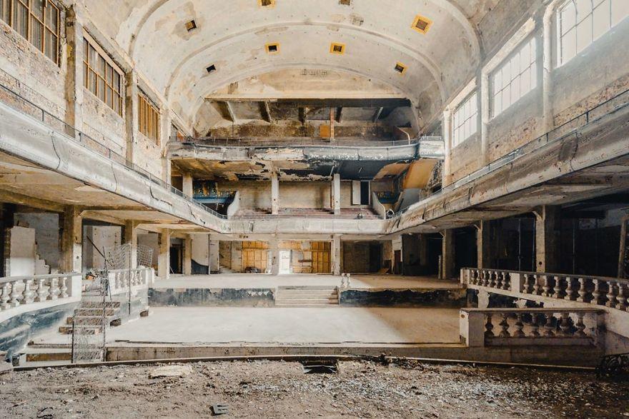 Abandoned Theatre In Belgium