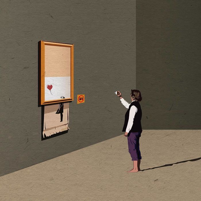 banksys october surprise visit - 700×700