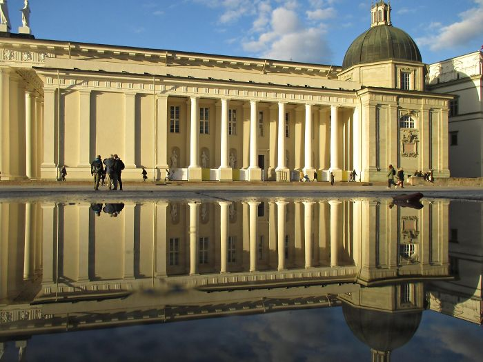 Captured The Beauty Of Rainy Vilnius City