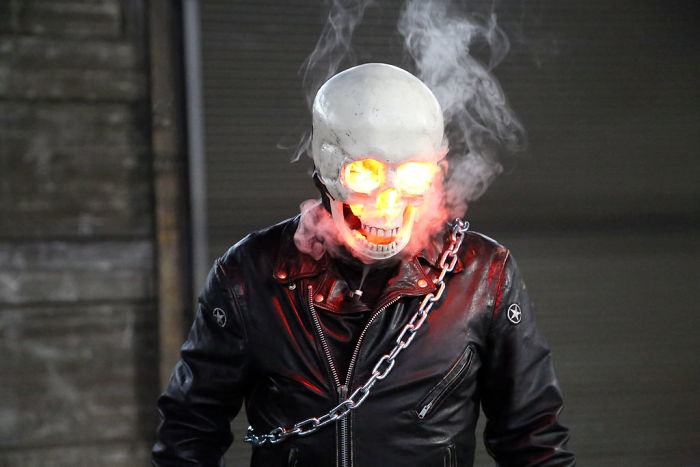 Realistic Ghost Rider Costume