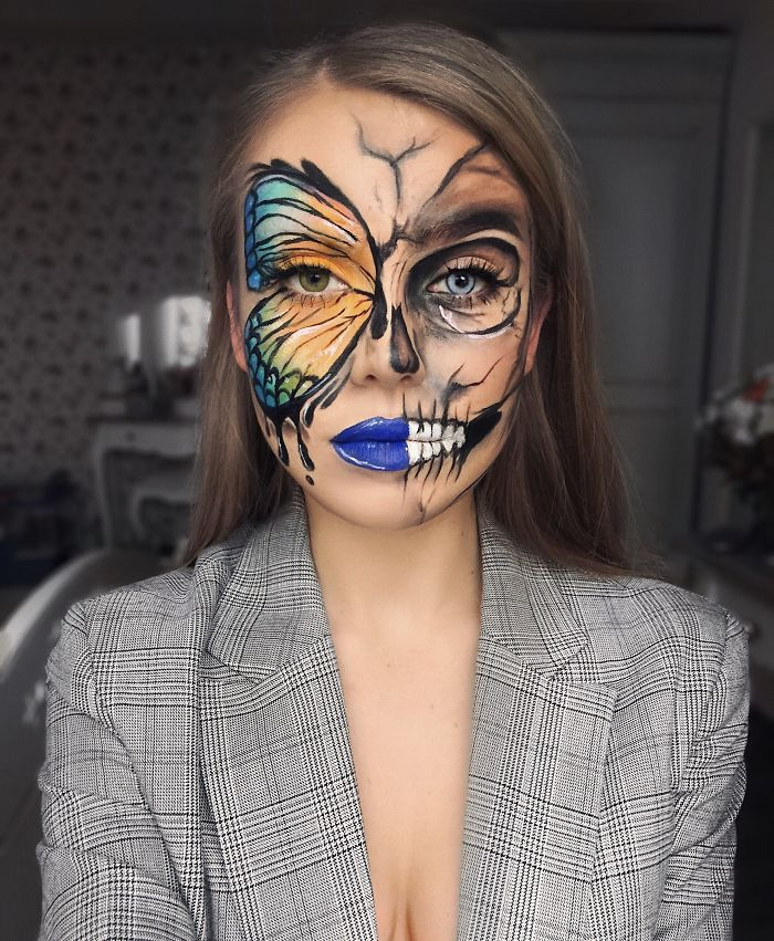 I Transform Myself With Halloween Makeup