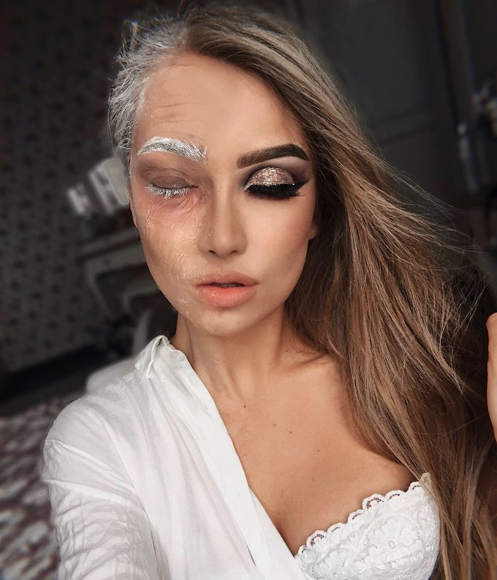 One Year Ago I Discovered My True Passion Was Makeup, Here're 20+ Of My Halloween Looks (NSFW)