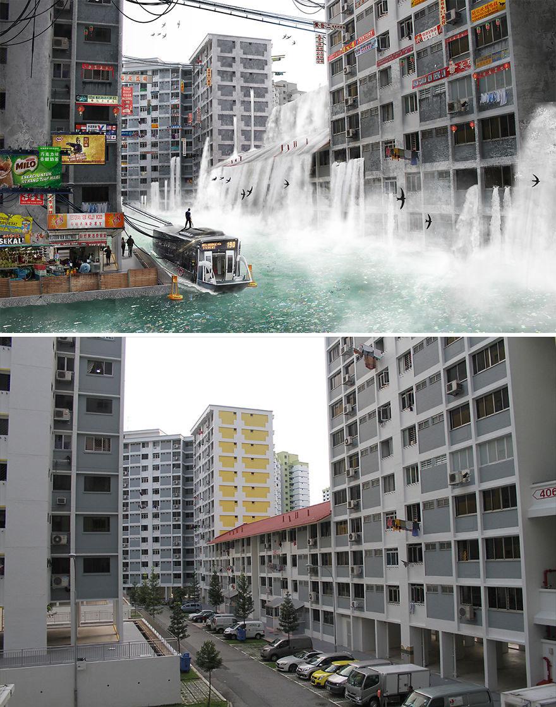 I Photoshop Singapore Underwater