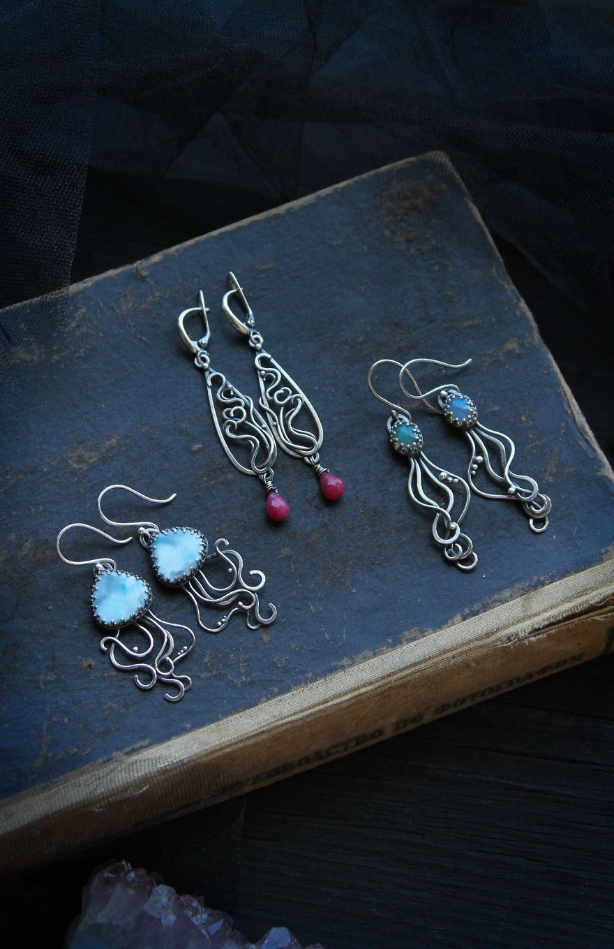 I Was Inspired By The Ocean To Make A Large Jewelry Collection