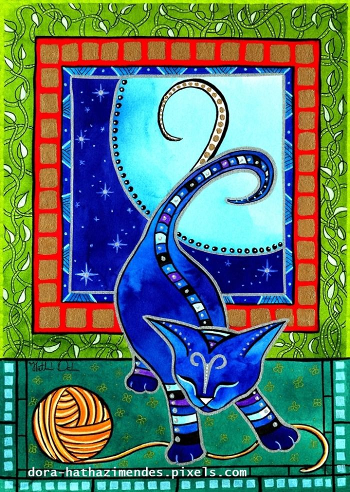 Aries Cat Zodiac