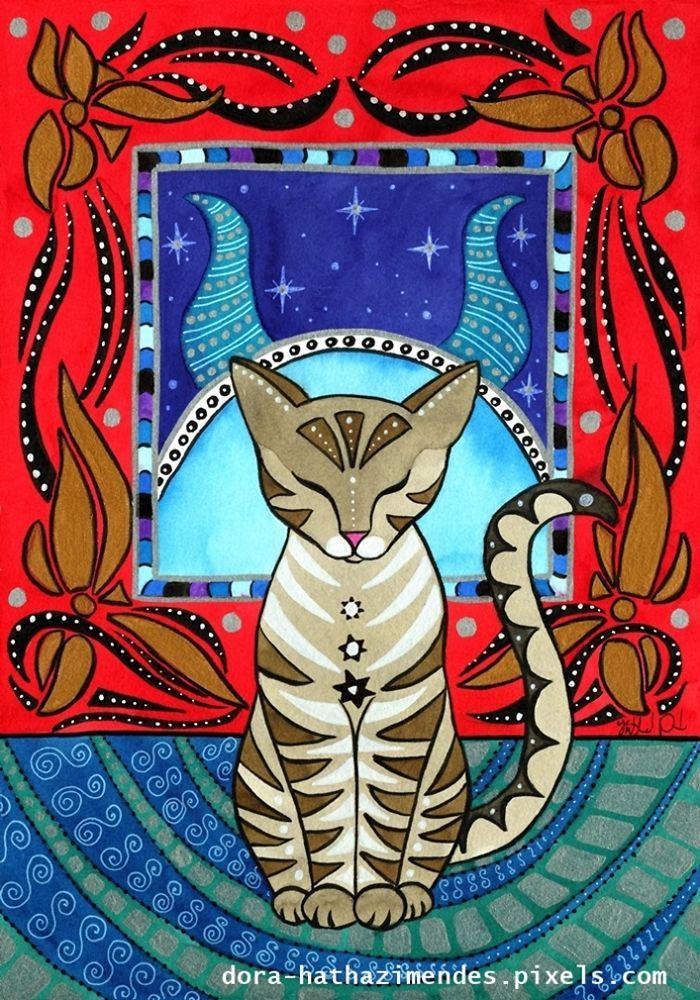 Taurus Cat Zodiac